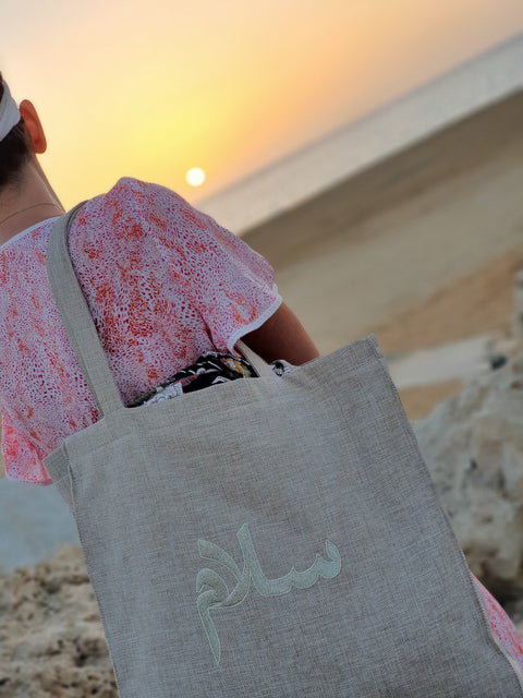 Beach Bag Salam - MINE BAGS AND ACCESSORIES - MIRA Y MANO