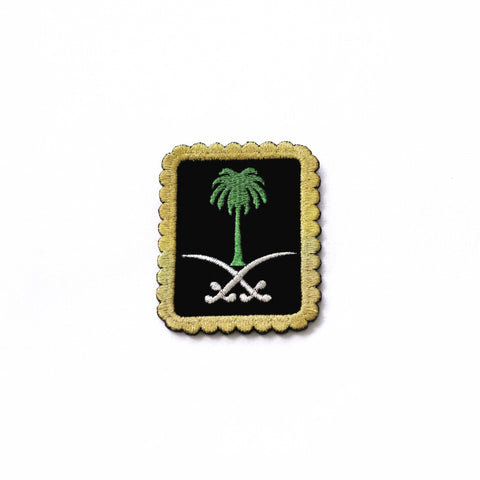 BROOCH SAUDI EMBLEM - MINE BAGS AND ACCESSORIES - MIRA Y MANO