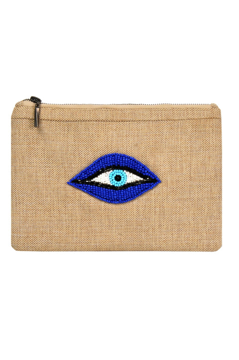POUCH BLUE EYES - MINE BAGS AND ACCESSORIES - MIRA Y MANO