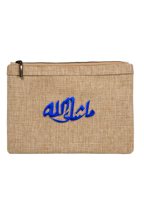 POUCH MASHALLAH LOGO - MINE BAGS AND ACCESSORIES - MIRA Y MANO