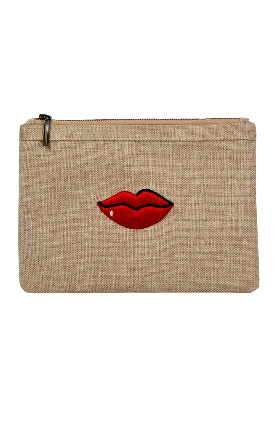 POUCH RED LIPS - MINE BAGS AND ACCESSORIES - MIRA Y MANO