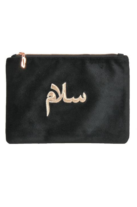 POUCH SALAM WORD. - MINE BAGS AND ACCESSORIES - MIRA Y MANO
