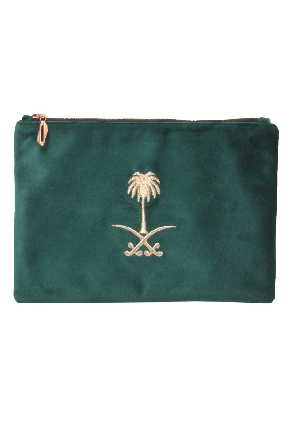POUCH SAUDI FLAG LOGO - MINE BAGS AND ACCESSORIES - MIRA Y MANO