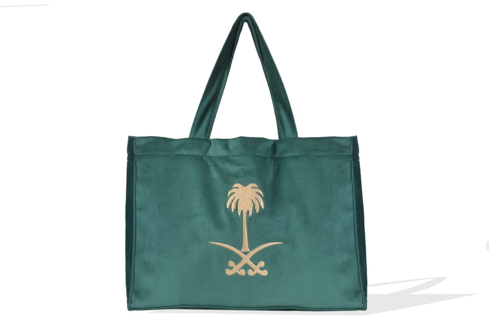 SAUDI EMBLEM LARGE BAG - MINE BAGS AND ACCESSORIES - MIRA Y MANO