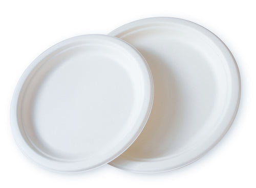 Compostable Plate Round - Dinner size 10