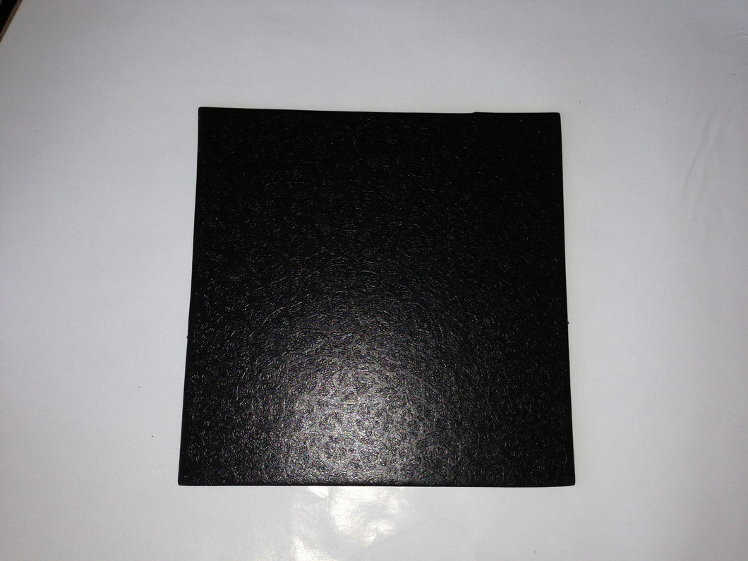 Cardboard Base Cake Boards SQUARE BLACK