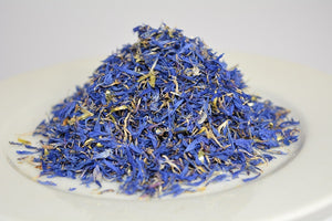edible cornflower petals blue petals