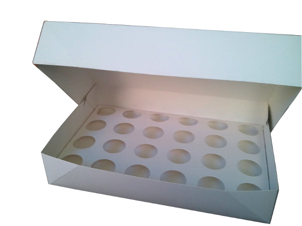 Cupcake box 24-hole Cupcake Transporter with No Window (C12)