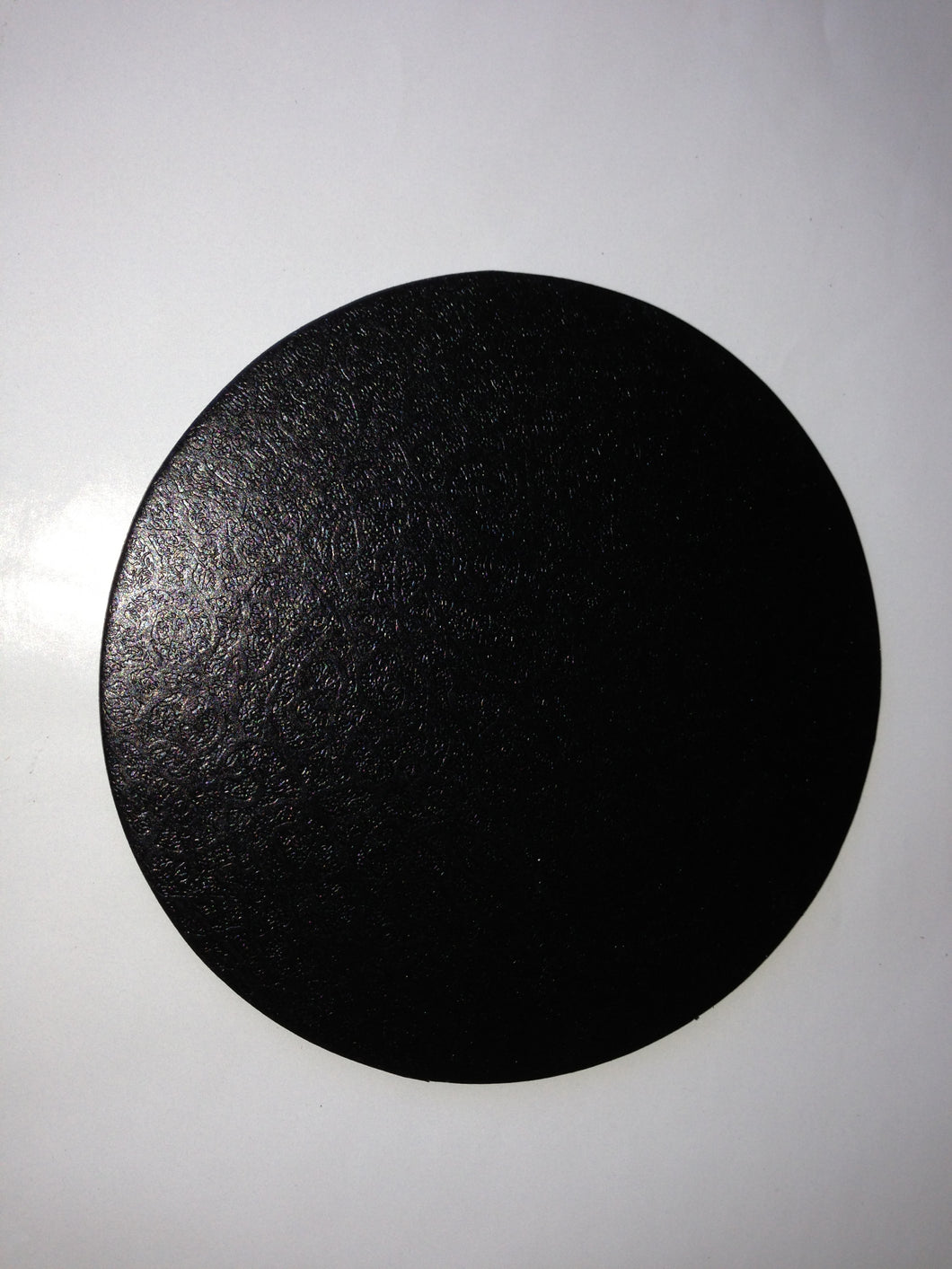 Cardboard Base Cake Boards CIRCLE ROUND BLACK