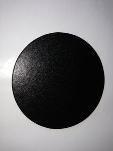 "11"", 12"" BLACK Cardboard Base Cake Boards ROUND BLACK Cakebase 100pcs SHIPPED TO YOU"
