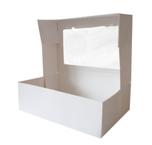 Pastry Large TALL Rectangle box with window (G06)