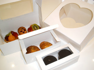 window pastry box