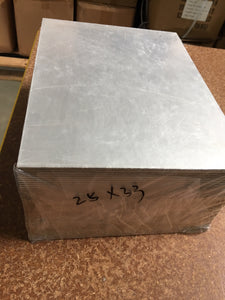rectangular cake base cardboard silver