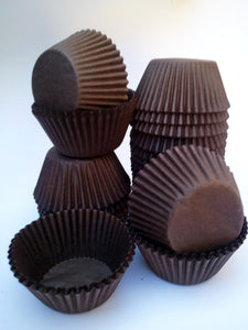Cupcake Baking Cups Mid Size 3.8cm base x 2.8cm wall (L398)