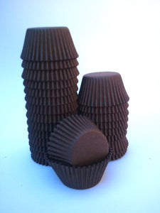 Muffin Baking Cups MUFFIN Size 5.5cm base x 3.6cm wall (L700)