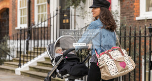 Pink Lining Dalmation Fever Yummy Mummy Changing Bag