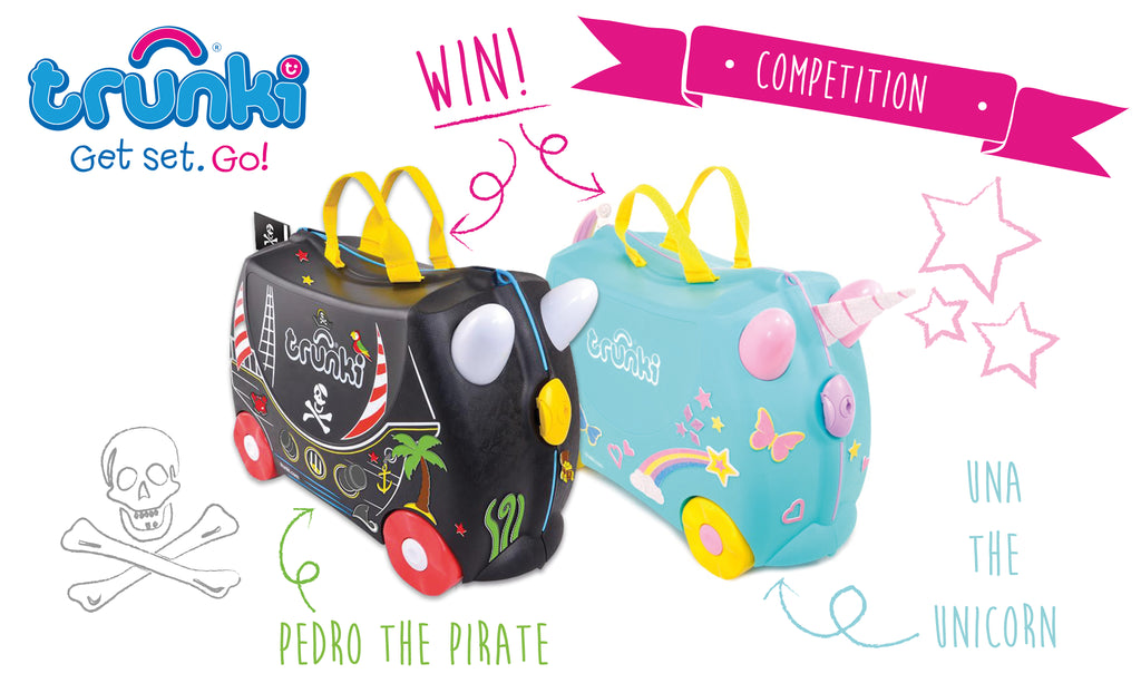 WIN a Trunki-Pink Lining-Competiition