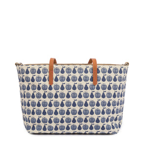 Notting Hill Tote Navy Apples & Pears
