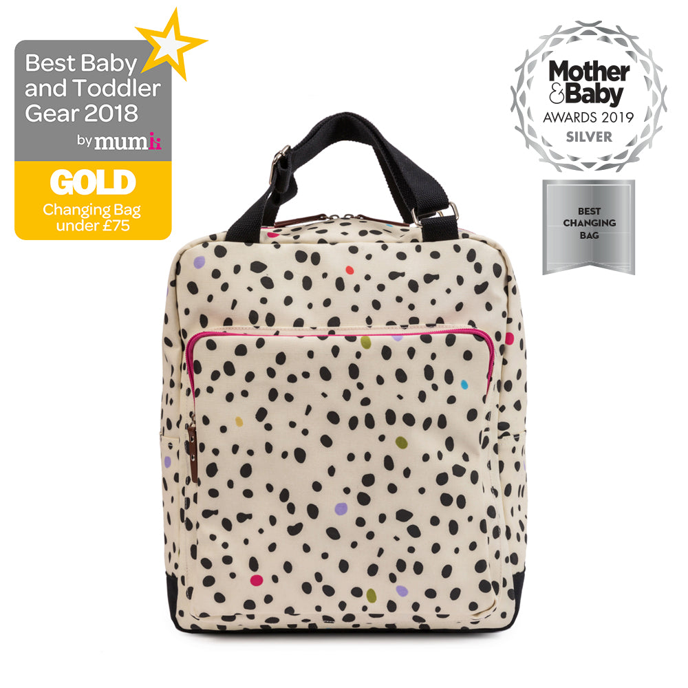 6fe554e9a2 Changing bags Pink Lining Wonder bag Dalmatian print