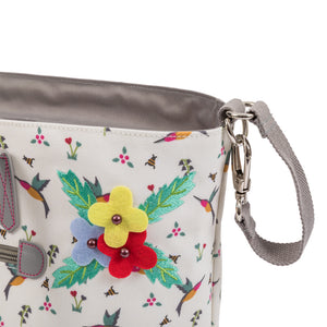 Changing bags - Pink Lining Hummingbird bag range