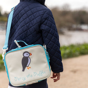 Pink Lining Puffin mini rucksack and reins