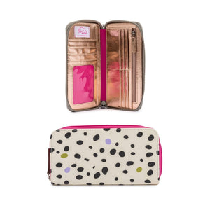 NOTTINGHILL TOTE - DALMATIAN FEVER Bundle incl: Wash Bag, Bottle Holder, Wallet