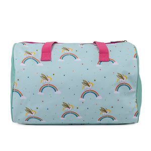 Pink Lining Unicorn overnight Bag