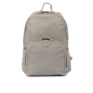 Shoreditch Vegan Leather Backpack - Grey
