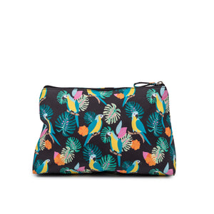Wash Bag - Parrot Black