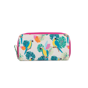 Pink Lining baby changing bag parrot wallet