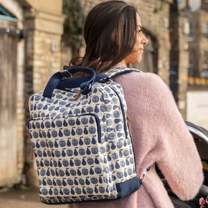 Junior Design Awards 2018 - The Wonder Bag Rucksack Navy Apples & Pears