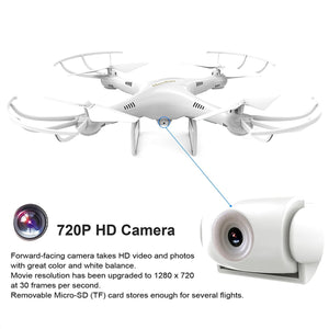 Quadcopter Drone with 720P HD Camera with Altitude Hold Mode