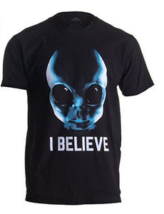"Adults 100% Cotton Unisex ""I Believe"" 