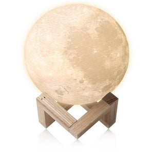 3D Moon Lamp - Medium