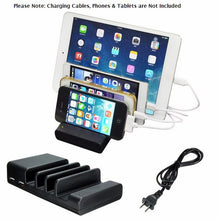Universal 4-port USB Charging Dock Station