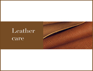 Leather dog collar and leash care