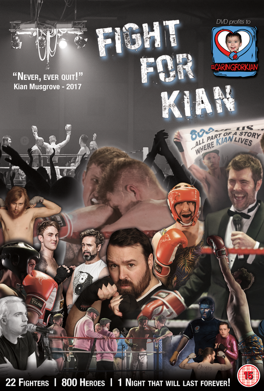 The UK Comics Boxing: Fight For Kian