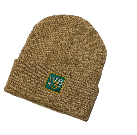 WB3 Arrow Wool Knit Beanie