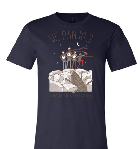 Light in the Western Sky Tour - Navy Unisex