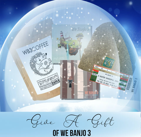 Give A Gift of We Banjo 3 Package