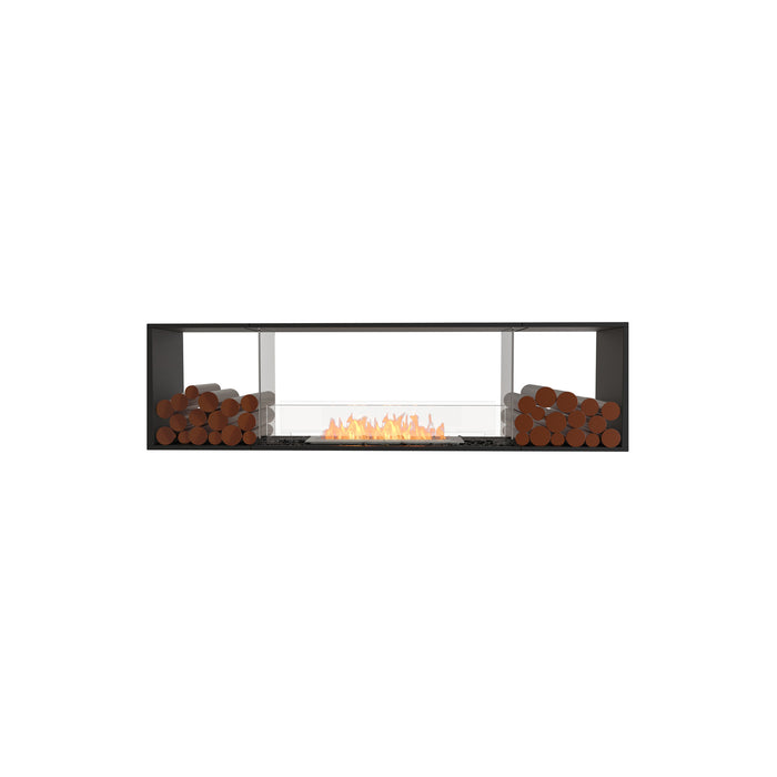 Flex Double Sided Fireplace