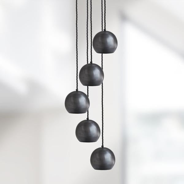 The Globe Collection Pendant Light - Pewter