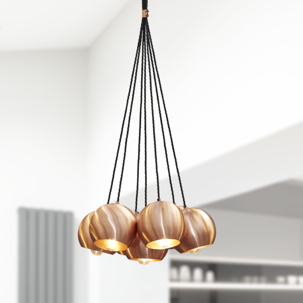 The Globe Collection Pendant Light - Copper