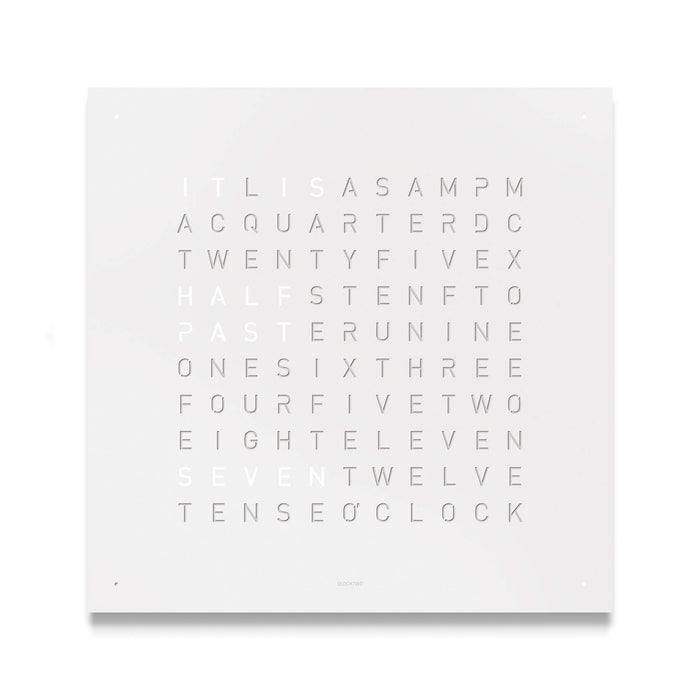Classic Powder-Coated Stainless Steel Wall Clock