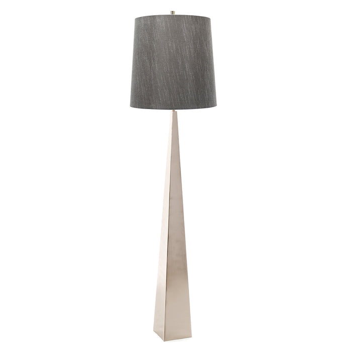 Ascent Floor Lamp in Polished Nickel