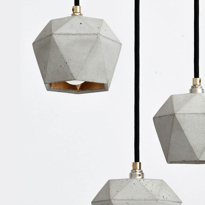 T2 Concrete Bundle Pendant Lights