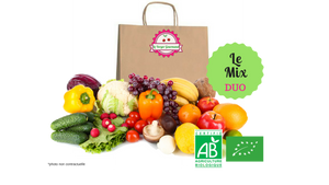 Panier - Duo Mix fruits et légumes (2 personnes) - le verger gourmand
