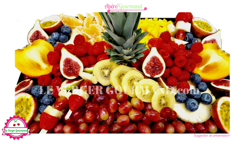 Le Festifruits - plateau de fruits