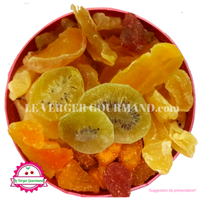 Corbeille de fruits secs 450g - le verger gourmand