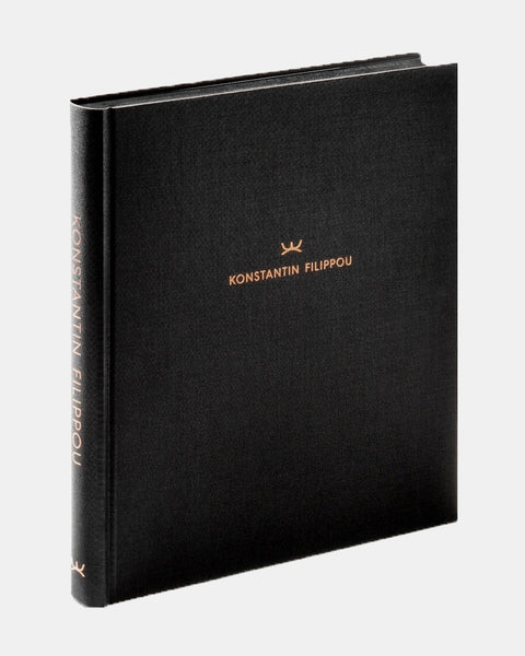 Konstantin Filippou - The Book - Signed by Konstantin